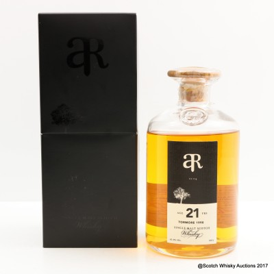 Tormore 1990 21 Year Old Auld Rare 50cl
