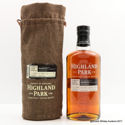 Highland Park 2003 13 Year Old For The Founders Series Edition 1 Grundtvig Single Cask #5715