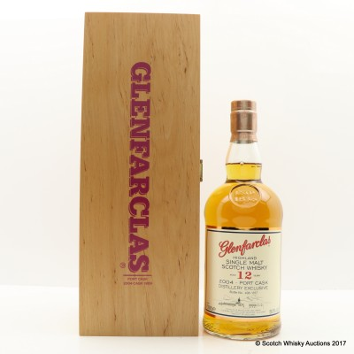 Glenfarclas 2004 12 Year Old Port Cask Distillery Exclusive