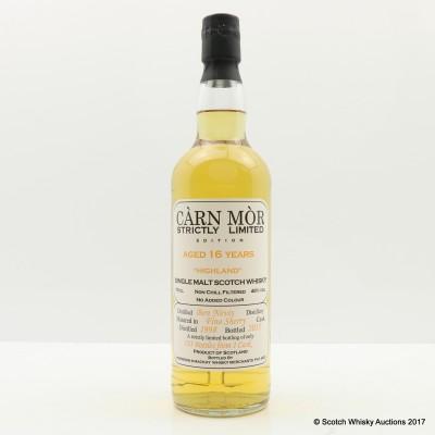 Ben Nevis 1998 16 Year Old Carn Mor