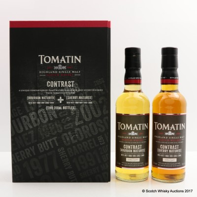 Tomatin Contrast 2 x 35cl