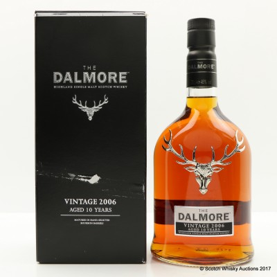 Dalmore Vintage 2006 10 Year Old