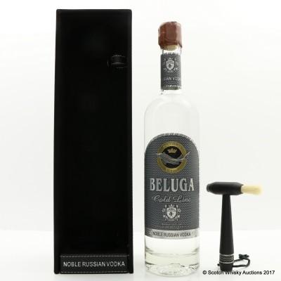 Beluga Gold Line Russian Vodka 75cl