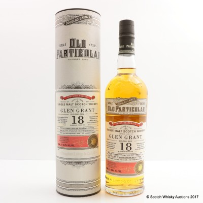 Glen Grant 1995 18 Year Old Old Particular