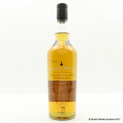 Triumph Roseisle Distillery Opening Commerative Blend