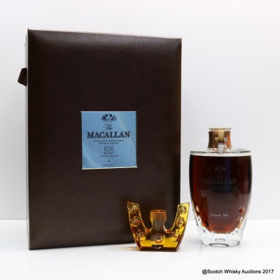 Macallan Lalique 55 Year Old