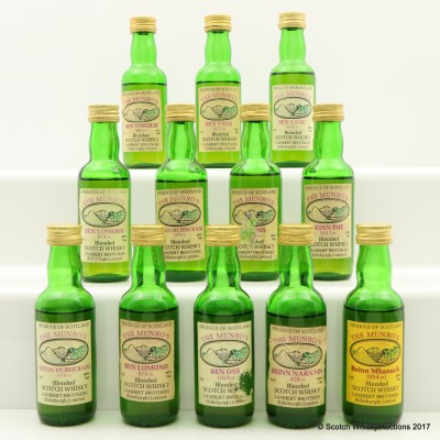 Assorted The Munro's Minis 12 x 5cl