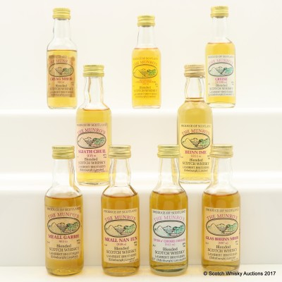 Assorted The Munro's Minis 9 x 5cl