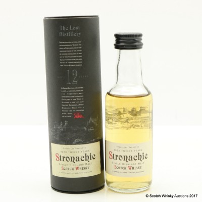 Stronachie 12 Year Old A.D. Rattray Mini 5cl