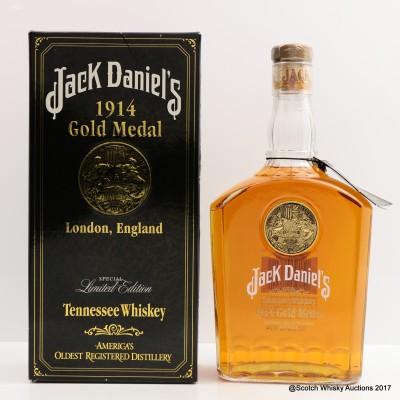 Jack Daniel's 1914 London Gold Medal 75cl