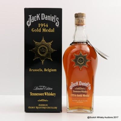 Jack Daniel's 1954 Brussels Gold Medal 75cl