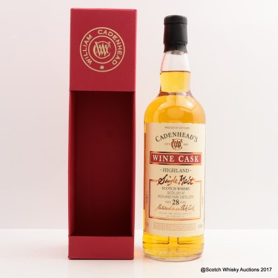 Highland Park 1988 28 Year Old Cadenhead's