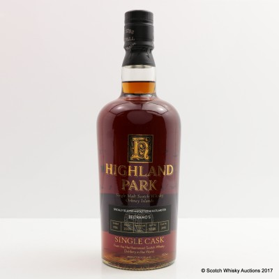 Highland Park 1986 19 Year Old Single Cask For Beltramo's 75cl
