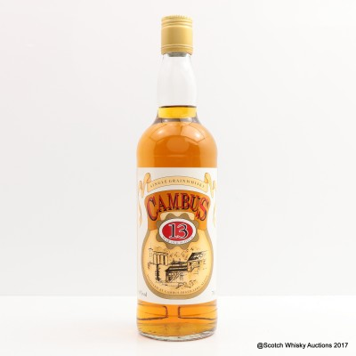 Cambus 13 Year Old Cask Strength