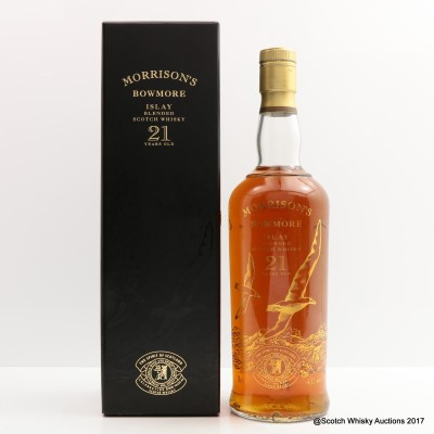 Morrision's Bowmore Blend 21 Year Old 500th Anniversary
