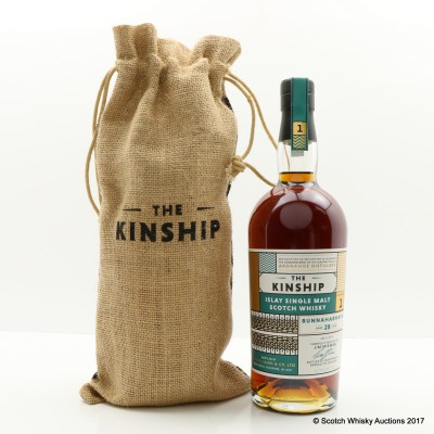 Bunahabhain Feis Ile 2017 28 Year Old Kinship Edition No.1