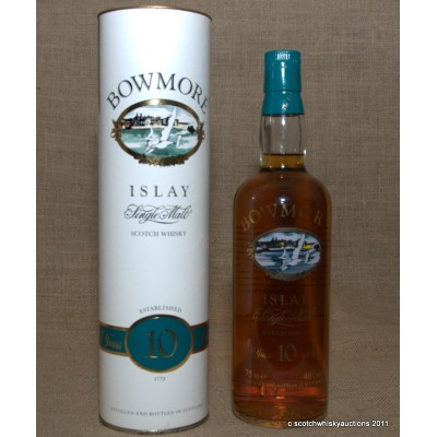 Bowmore 10 Screen Printed Bottle