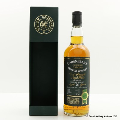 Mortlach 1988 26 Year Old Cadenhead's