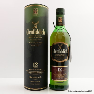 Glenfiddich 12 Year Old Celebrating One Day You Will
