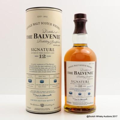 Balvenie 12 Year Old Signature Batch #4