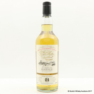 BenRiach 1990 24 Year Old Speciality Drinks Ltd