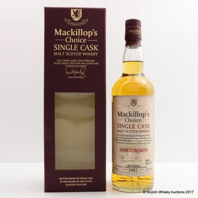 Linlithgow 1982 Mackillop's Choice