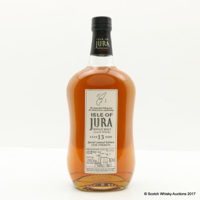 Jura 1992 13 Year Old Limited Edition