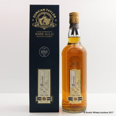 Bowmore 1982 26 Year Old Duncan Taylor