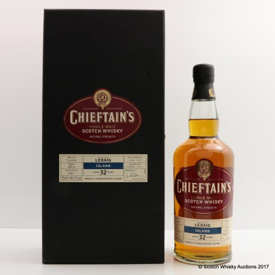 Ledaig 1973 32 Year Old Chieftain's