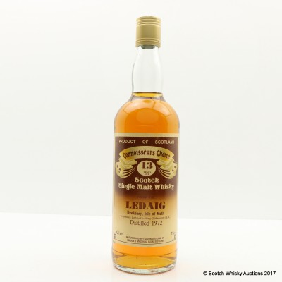 Ledaig 1972 13 Year Old Connoisseurs Choice 75cl