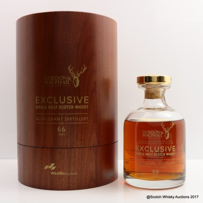 Glen Grant 1948 66 Year Old Wealth Solutions Gordon & MacPhail