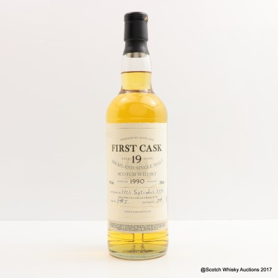 Dalmore 1990 19 Year Old First Cask