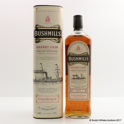 Bushmill's Sherry Cask Steamship Collection 1L