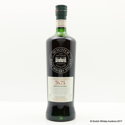 SMWS 76.75 Mortlach 20 Year Old