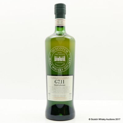 SMWS G7.11 Girvan 2000 15 Year Old