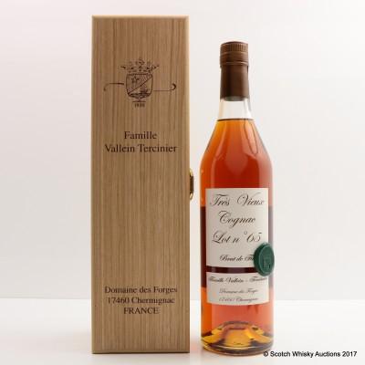 Famille Vallein Tercinier Lot 65 Tres Vieux Cognac