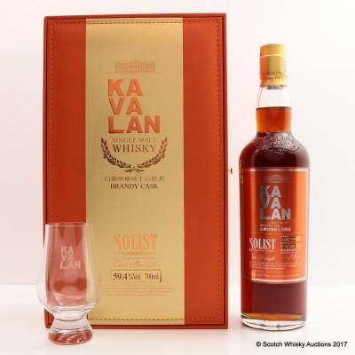 Kavalan Solist Brandy Cask & Glass