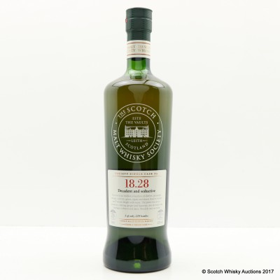 SMWS 18.28 Inchgower 24 Year Old