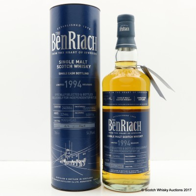 BenRiach 1994 22 Year Old For Independentspirit.de