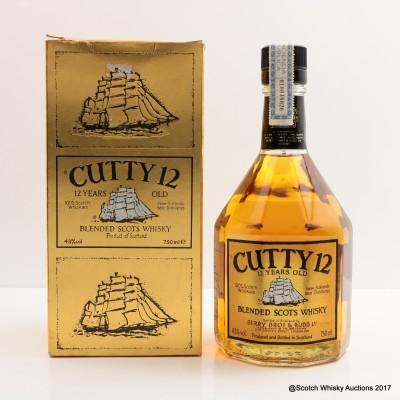 Cutty Sark 12 Year Old 75cl