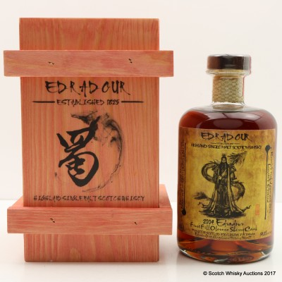 Edradour 2004 Oloroso Sherry Cask #416 Taiwanese Exclusive 50cl