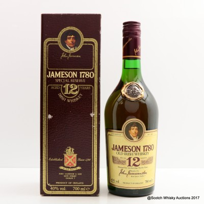 Jameson 12 Year Old 1780