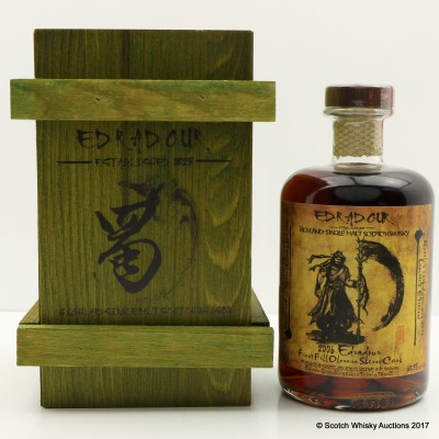 Edradour 2006 Oloroso Sherry Cask #239 Taiwanese Exclusive 50cl