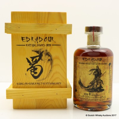 Edradour 2005 Oloroso Sherry Cask #52 Taiwanese Exclusive 50cl