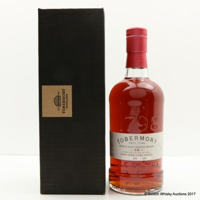 Tobermory 14 Year Old Port Pipe Finish Distillery Exclusive