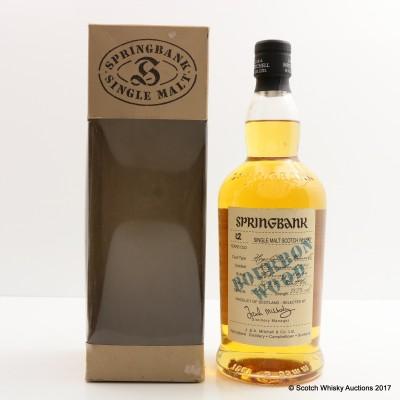 Springbank 1991 12 Year Old Bourbon Wood