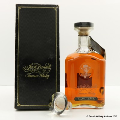 Jack Daniel's 125th Birthday Decanter 1L