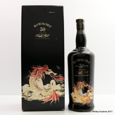 Bowmore 30 Year Old The Sea Dragon