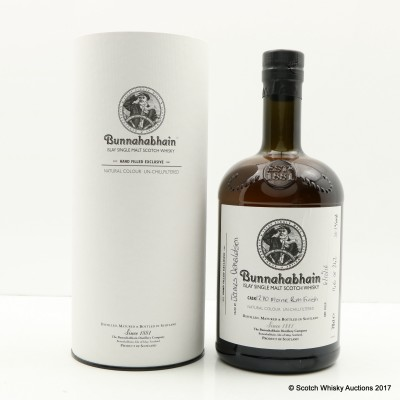 Bunnuhabhain 12 Year Old Moine Rum Finish Hand Filled
