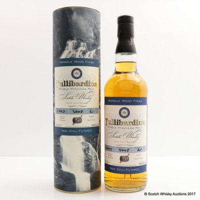 Tullibardine 1993 Marsala Wood Finish
